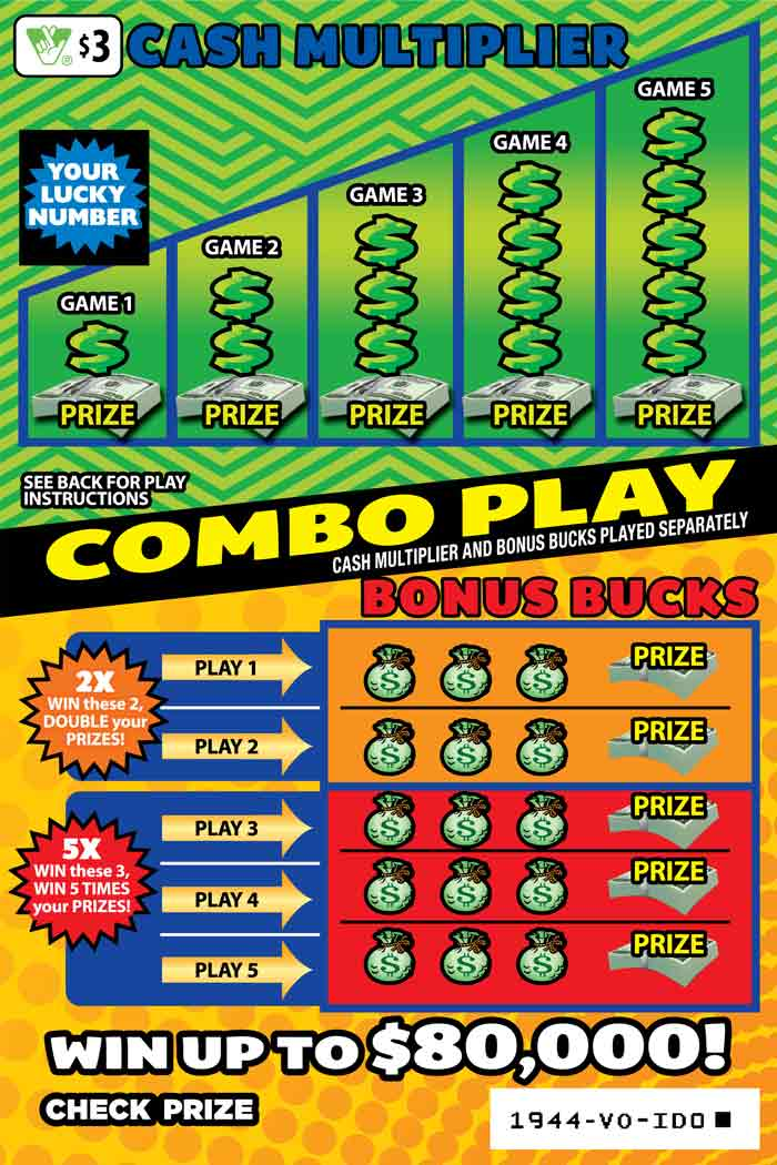 Combo Play Scratcher | Virginia Lottery