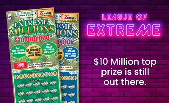 extreme millions homepage promo