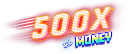 500 x the money logo