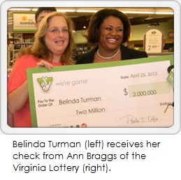 Belinda Turman thought she had a winning Powerball ticket.