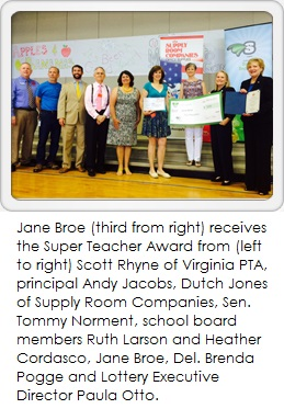 Jane Broe Super Teacher